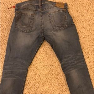 Size 38 Men's Variety True Religion Jeans .